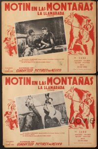 7m550 DRUMS 5 Mexican LCs '38 Sabu & Raymond Massey adventure in the heart of mystic India!