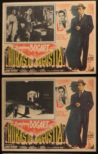7m569 KNOCK ON ANY DOOR 6 Mexican LCs '49 Humphrey Bogart, John Derek, directed by Nicholas Ray!