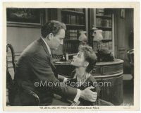 7w024 DR. JEKYLL & MR. HYDE 8x10 still '41 close up of Spencer Tracy & pretty Ingrid Bergman!