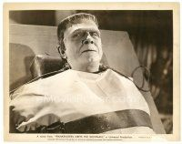 7w033 FRANKENSTEIN MEETS THE WOLF MAN 8x10 still '43 wonderful c/u of Bela Lugosi as the monster!