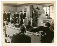 7w030 GHOST OF FRANKENSTEIN 8x10 still R48 police with Lon Chaney as the monster bound in court!