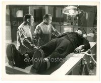 7w031 GHOST OF FRANKENSTEIN 8x10 still R48 Hardwicke & Atwill look at monster Lon Chaney on table!