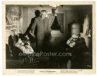 7w043 HOUSE OF FRANKENSTEIN 8x10 still '44 crazy Boris Karloff with two of his victims in his home!