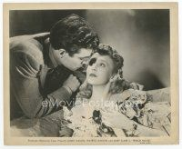 7w025 TERROR HOUSE 8x10 still '42 c/u of James Mason about to kiss pretty Mary Clare!