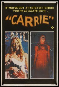 7z050 CARRIE Aust special poster 77 Stephen King different image of Sissy Spacek after the prom