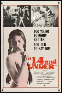 8e010 14 & UNDER 1sh '73 Ernst Hofbauer, too young to know better, too old to say no!