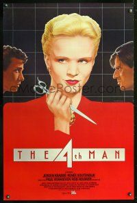 8e006 4TH MAN int'l 1sh '83 Paul Verhoeven's De Vierde man, realy cool Topazio art of top stars!