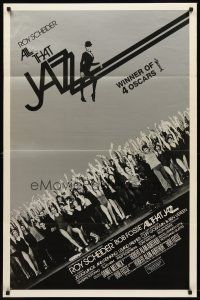 8e027 ALL THAT JAZZ int'l 1sh R80 Roy Scheider & Jessica Lange star in Bob Fosse musical!