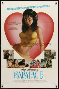 8e048 BABYFACE 1sh '77 classic Alex de Renzy, sexy art of America's newest sweetheart!