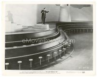 8j014 5000 FINGERS OF DR. T 8x10 still '53 Hans Conried conducts Tommy Rettig at massive piano!