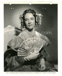 8j039 ANNE REVERE 8x10 key book still '41 as the bitter snobbish sister in Flame of New Orleans!