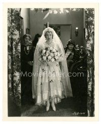 8j052 BABY MINE 8x10 still '28 Charlotte Greenwood as the not-very-youthful bride!