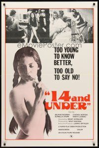 9k014 14 & UNDER 1sh '73 Ernst Hofbauer, too young to know better, too old to say no!