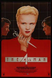 9k024 4TH MAN int'l 1sh '83 Paul Verhoeven's De Vierde man, really cool Topazio art of top stars!