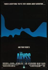 9k031 ABYSS int'l 1sh '89 directed by James Cameron, Ed Harris, different silhouette image!