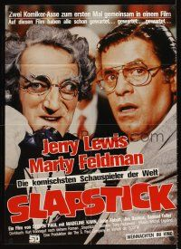 9p287 SLAPSTICK OF ANOTHER KIND German '82 Vonnegut, great image of Jerry Lewis & Marty Feldman!