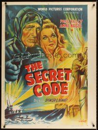 9p031 SECRET CODE Indian R60s Paul Kelley & sexy Anne Nagel, WWII serial!
