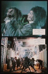 9p178 RETURN OF THE LIVING DEAD 2 8 French LCs '88 close encounters of the creepy kind!