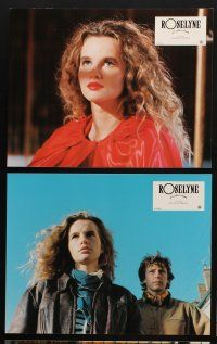 9p147 ROSELYNE & THE LIONS 9 style A French LCs '89 pretty Isabelle Pasco in title role!