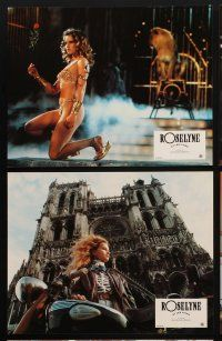 9p148 ROSELYNE & THE LIONS 9 style B French LCs '89 pretty Isabelle Pasco in title role!