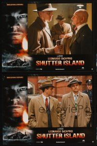 9p215 SHUTTER ISLAND 4 French LCs '10 Martin Scorsese, cool images of Leonardo DiCaprio!