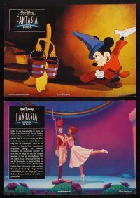 9p331 FANTASIA 2000 8 German LCs '00 Walt Disney cartoon set to classical music!