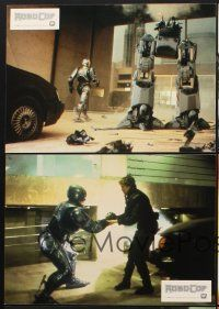 9p306 ROBOCOP 18 German LCs '87 Paul Verhoeven classic, Peter Weller is part man, part machine!