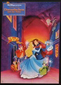 9p321 SLEEPING BEAUTY 9 German LCs R90s Walt Disney cartoon fairy tale fantasy classic!