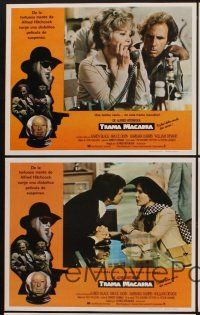 9p056 FAMILY PLOT 5 Mexican LCs '76 from devious Alfred Hitchcock, Karen Black, Bruce Dern!