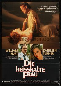 9t048 BODY HEAT German R80s different images of sexy Kathleen Turner & William Hurt!