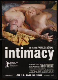 9t060 INTIMACY advance German 16x23 '01 Mark Rylance & Kerry Fox in bed!