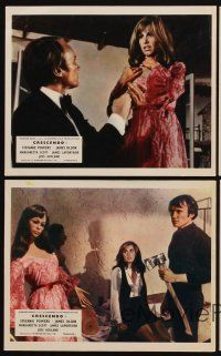 9y072 CRESCENDO 4 color English FOH LCs '70 Hammer, sexy Stefanie Powers, James Olson!