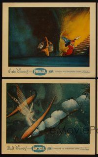 9y073 FANTASIA 4 color English FOH LCs R56 great images of Mickey Mouse & others, Disney classic!