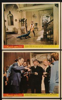 9y016 HAPPIEST MILLIONAIRE 8 color English FOH LCs '67 Disney, Tommy Steele, Greer Garson