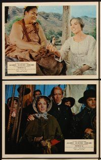 9y020 HAWAII 8 color English FOH LCs '66 Julie Andrews, Max von Sydow, Richard Harris,James Michener