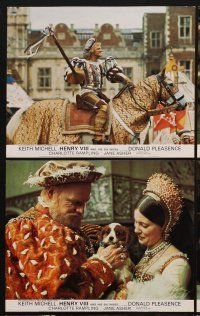 9y023 HENRY VIII & HIS SIX WIVES 8 color English FOH LCs '72 Keith Mitchell, Charlotte Rampling