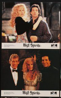 9y025 HIGH SPIRITS 8 color English FOH LCs '88 sexy Daryl Hannah, Peter O'Toole, Steve Guttenberg