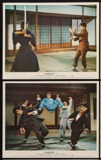 9y032 LADY KUNG FU 8 color English FOH LCs '72 Angela Mao, the unbreakable China doll!