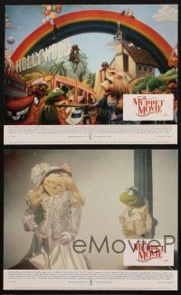 9y067 MUPPET MOVIE 5 color English FOH LCs '79 Jim Henson, Kermit the Frog & Miss Piggy, Mel Brooks!