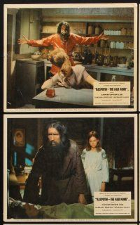 9y042 RASPUTIN THE MAD MONK 8 color English FOH LCs '66 crazed Christopher Lee, free beard offer!