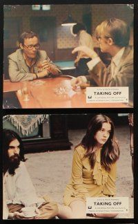 9y054 TAKING OFF 7 color English FOH LCs '71 Milos Forman's first American movie!