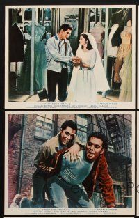 9y070 WEST SIDE STORY 5 color English FOH LCs '61 Natalie Wood, Richard Beymer, musical classic!