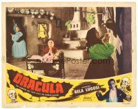 1c294 DRACULA LC #7 R51 women inside room praying to be protected from the vampires!