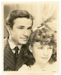 1m005 20 MULE TEAM 8x10 still '40 great close up of young Anne Baxter & Noah Beery Jr.!