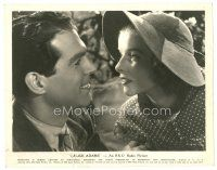 1m021 ALICE ADAMS 8x10 still '35 great close up of Katharine Hepburn & Fred MacMurray!