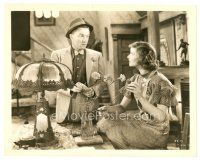 1m022 ALICE ADAMS 8x10 still '35 Frank Albertson looks surprised at Katharine Hepburn!