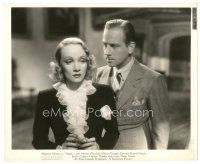 1m024 ANGEL 8x10 still '37 Melvyn Douglas glares at beautiful Marlene Dietrich!