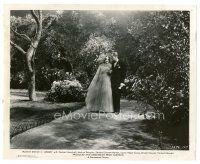 1m026 ANGEL 8x10 still '37 Melvyn Douglas & Marlene Dietrich out for a stroll!