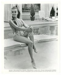 1m038 ANN-MARGRET 8x10 still '66 full-length seated on diving board in sexy bathing suit!