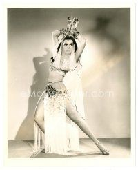 1m030 ANN MILLER 8x10 still '44 in sexy harem girl outfit showing her legs by Joe Walters!